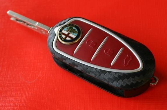 #1 Schlüsselfolie in Carbonoptik Alfa Romeo Modelle