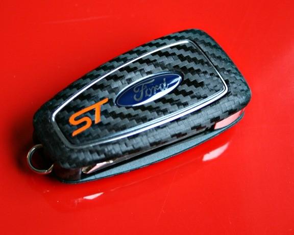 #11 Schlüsselfolie in Carbonoptik Ford Modelle Key ST
