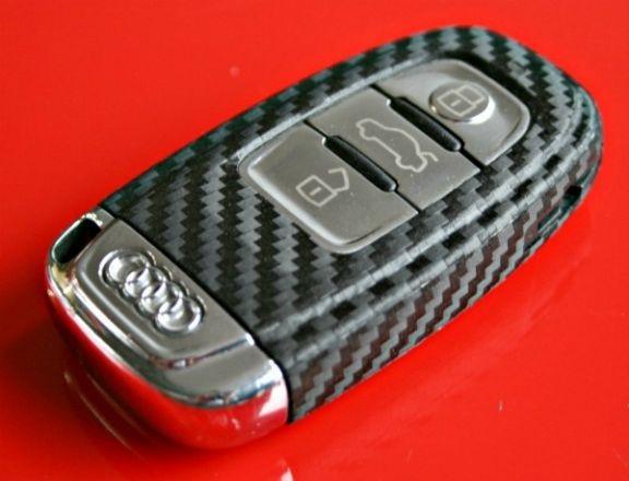 #4 Schlüsselfolie in Carbonoptik Audi Modelle