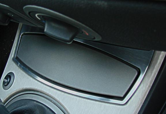 1 Aluminium Dekorrahmen für den Aschenbecher