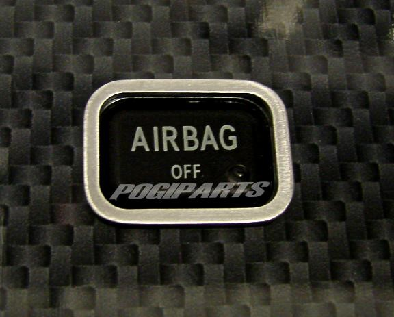 Zierrahmen Air Bag Schalter