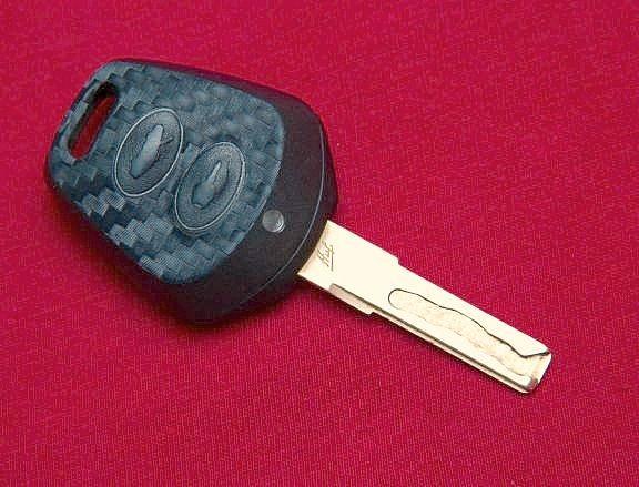#1 Schlüsselfolie in Carbonoptik Porsche Modelle (2Tasten)