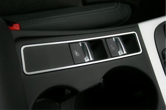 1 Aluminium Dekorrahmen für den Verdeckschalter (nur Cabrio)