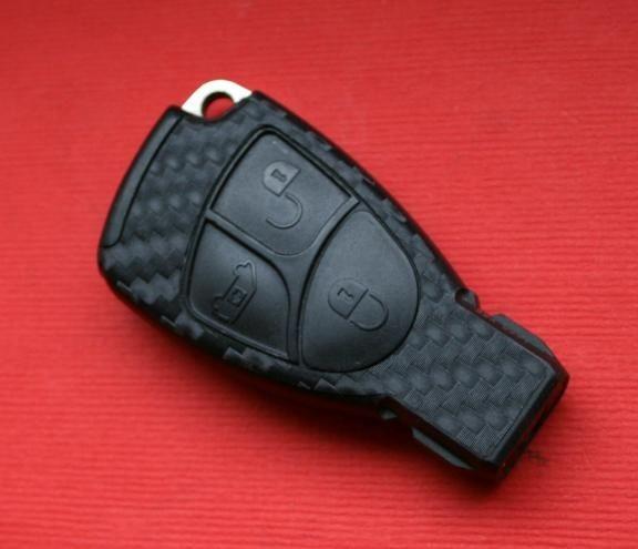 #4 Schlüsselfolie in Carbonoptik Mercedes Benz Modelle