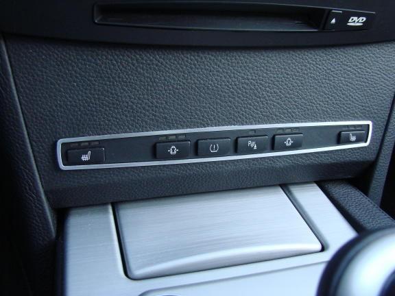 1 Aluminium Dekorrahmen für die Radio Schalterleiste