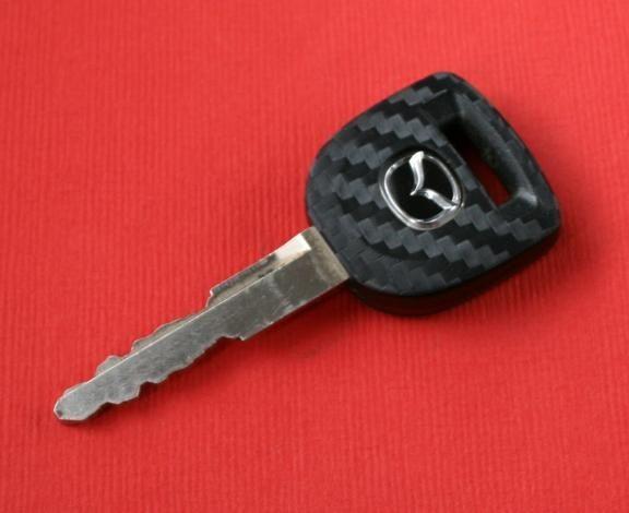 #1 Schlüsselfolie in Carbonoptik Mazda Modelle