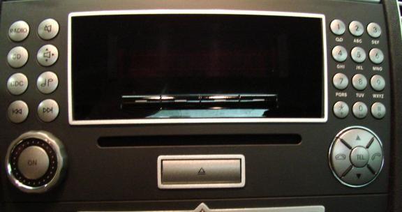 1 Aluminium Dekorrahmen für das Radio Audio 20 CD